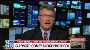 Ron Hosko on FOX News