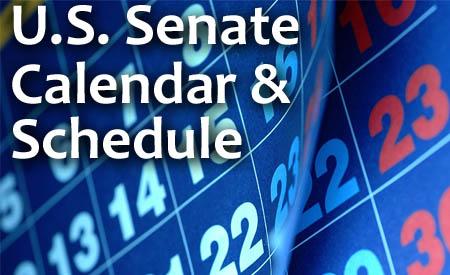 Senate Calendar